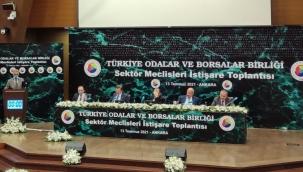 TOBB SAİK Başkanı Sayın Levent Korkut 13.07.2021 Tarihinde TOBB Sektör Meclisleri İstişare Toplantısına Katılmıştır.