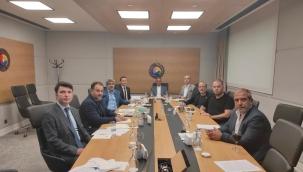TOBB SAİK Yönetimi Eylül 2021 Aylık Olağan Toplantısını Gerçekleştirdi.