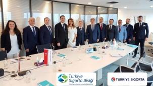 Türkiye Sigorta Birliği Fuar Komitesini Misafir Etti .